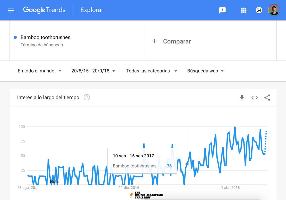 Cómo Encontrar Un Nicho de Mercado Rentable: Google Trends