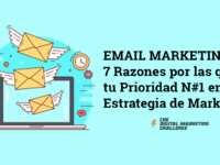 Email Marketing: 7 Razones por las que debe ser tu Prioridad N#1 en tu Estrategia de Marketing